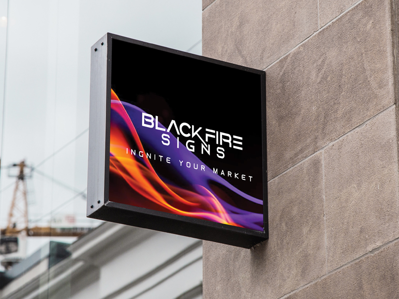Outdoor Business Signs - BlackFire Signs